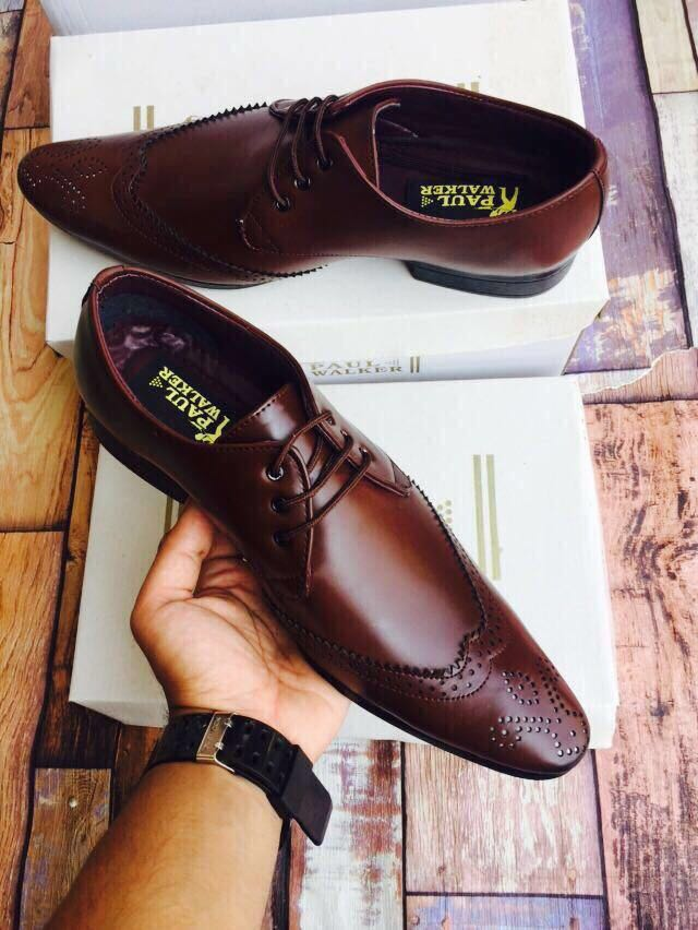 Classy Dark Brown Formal Shoes